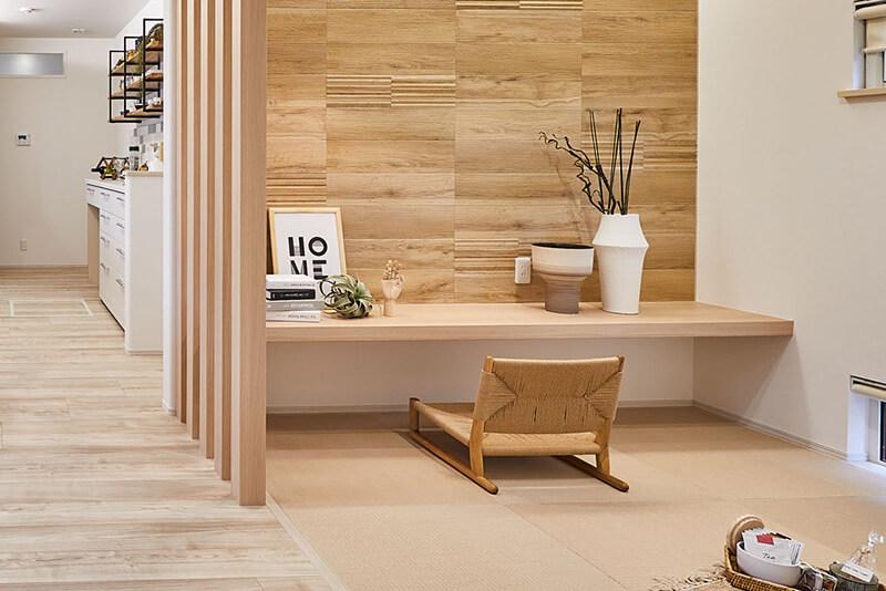 兵庫の平屋住宅の畳スペース