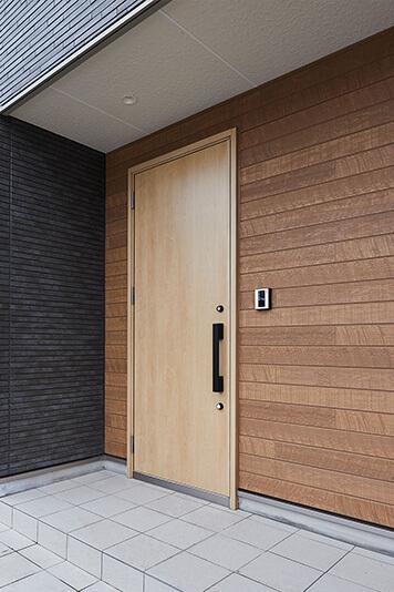 兵庫の平屋住宅の玄関ポーチ