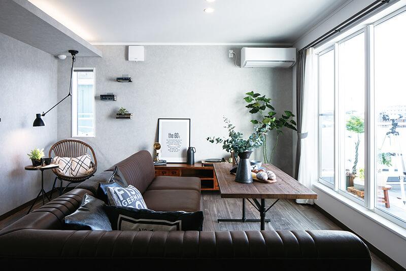 兵庫で開放的な二階リビングがる住宅