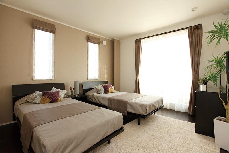 兵庫で二世帯住宅の親世代の寝室