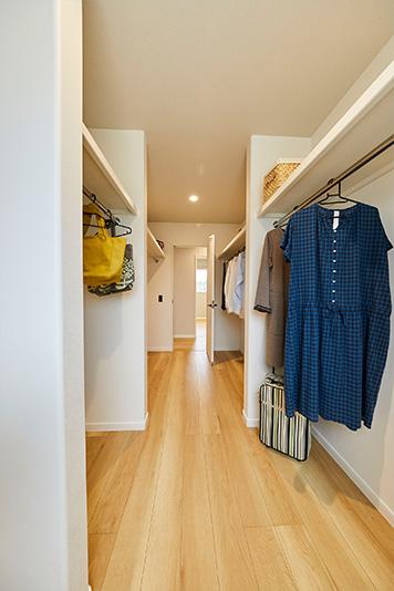 兵庫で畳のある注文住宅の洋服収納