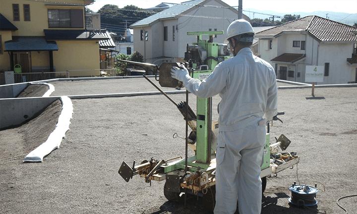 兵庫で家を建てるための地盤調査