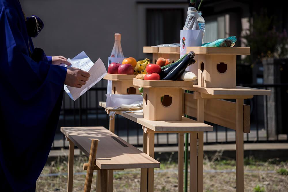 兵庫で家を建てるための地鎮祭