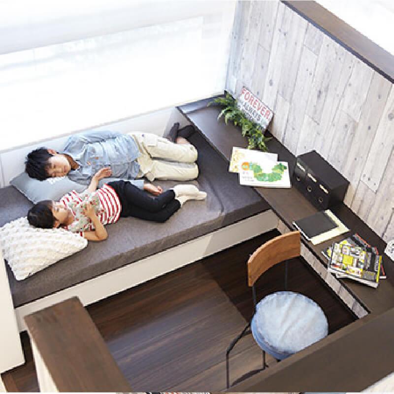 兵庫の注文住宅,新築一戸建ての寝室