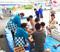 兵庫でマイホームを実現する工務店のお祭りの様子
