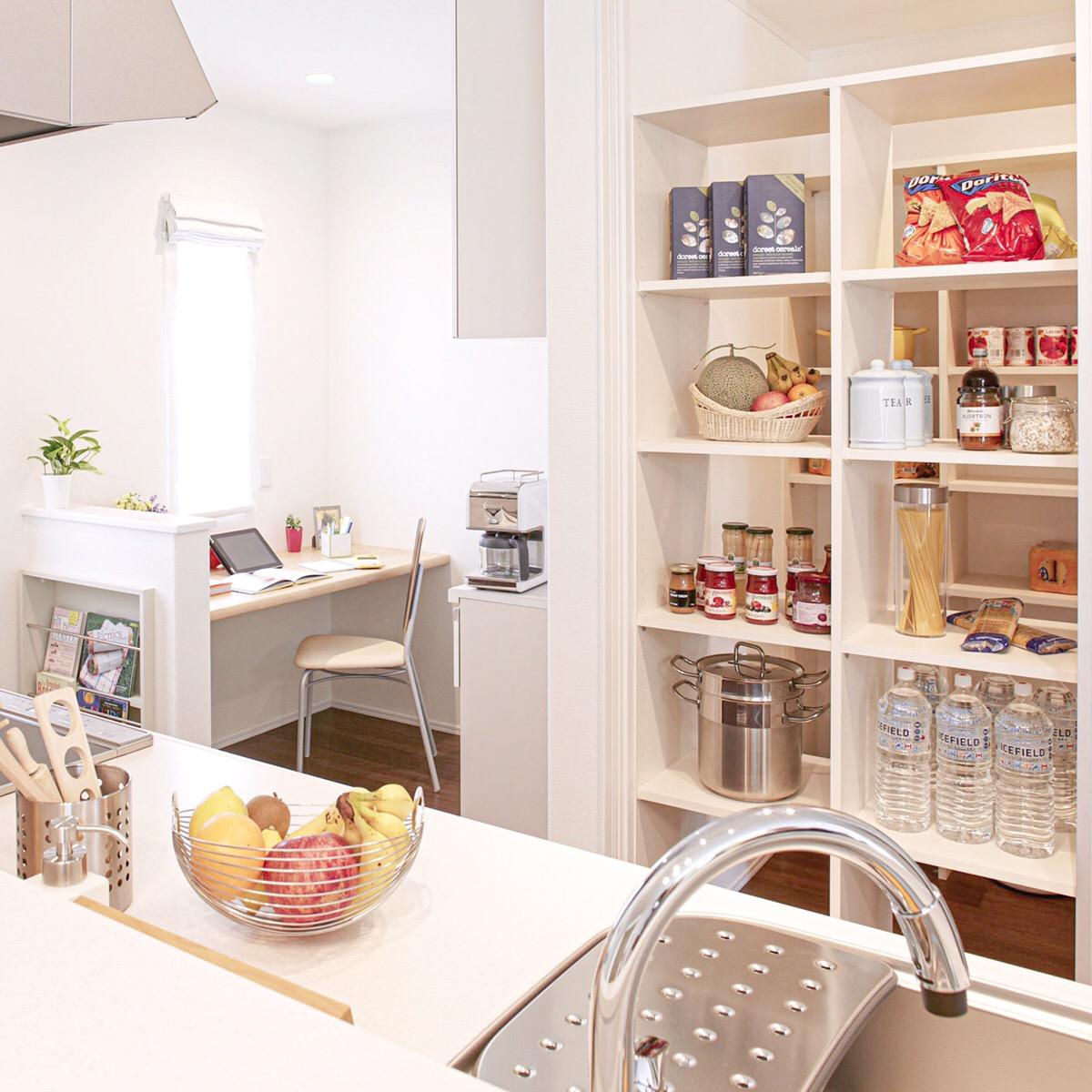 キッチン作業スペース