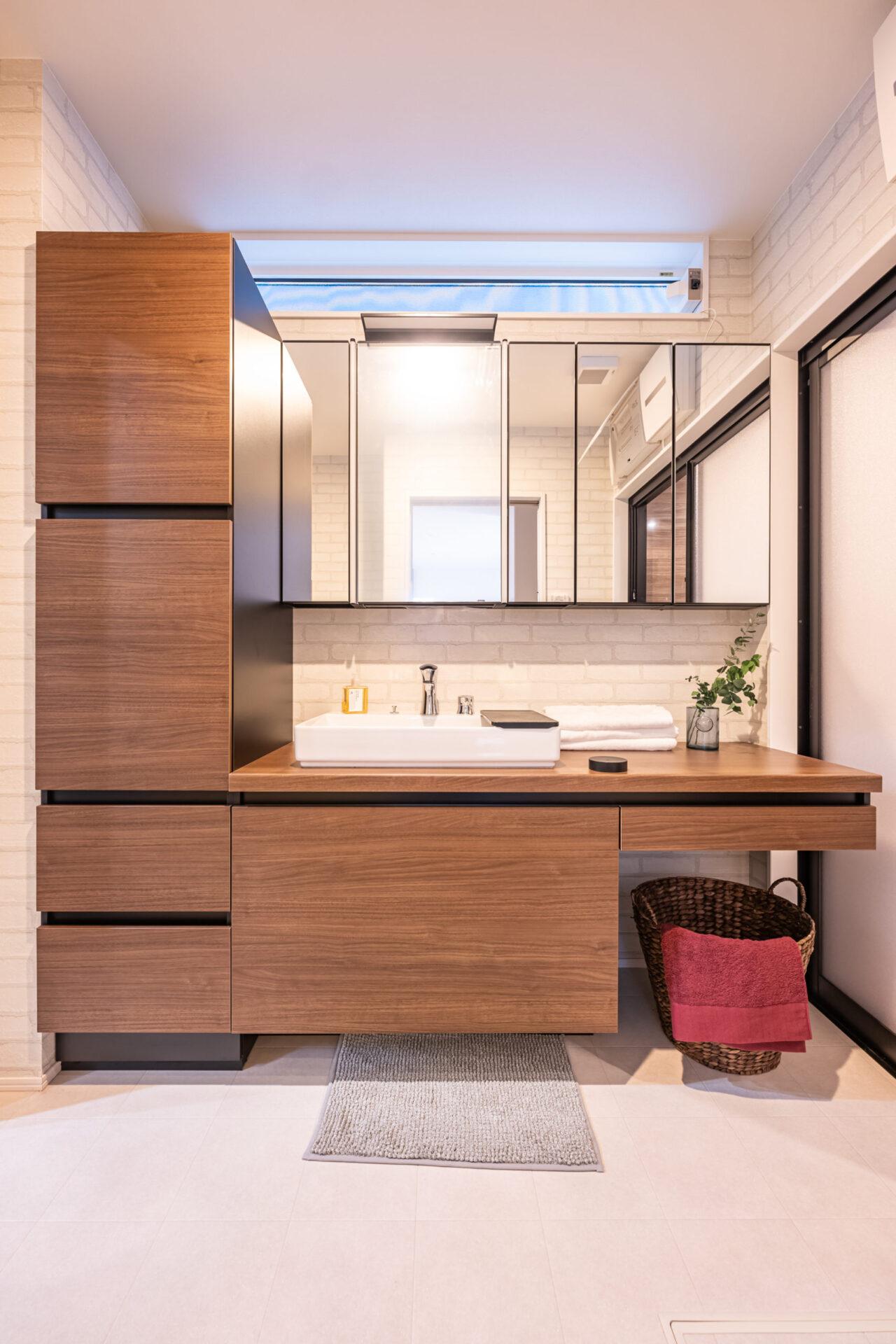 洗面所の収納